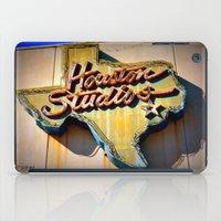 houston iPad Cases featuring Houston Studios by Rachael Holliday
