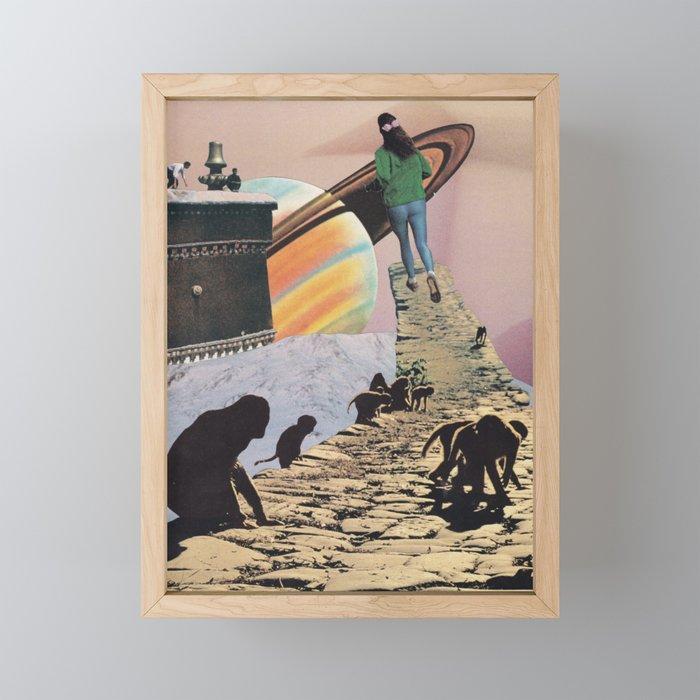 Europa Framed Mini Art Print