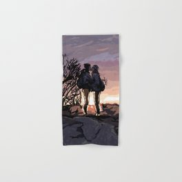 Kiss at Sunset Hand & Bath Towel