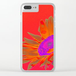 Sunflower_2014_1204 Clear iPhone Case