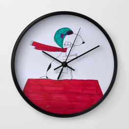 Snoopy Wall Clock