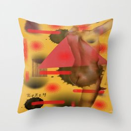 Homage to Balzac n.3 Throw Pillow