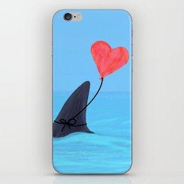 Original Shark Love Design iPhone Skin