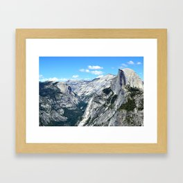 Half Dome View Framed Art Print