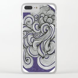 Spiraled up! Clear iPhone Case