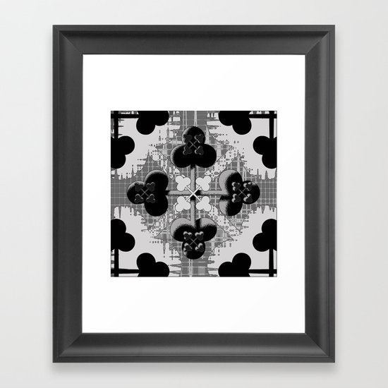 Clubs Framed Art Print