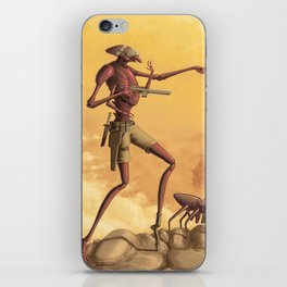Scouting the Badlands iPhone Skin