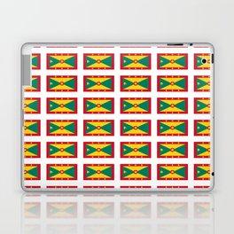 flag of grenada -grenadian,grenadines,Saint georges,grenville,Gouyave,Carriacou,nutmeg Laptop & iPad Skin