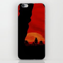 """Redemption Is Dead"" iPhone Skin"