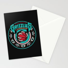 VancouverGrizzlies Logo Stationery Cards