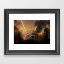St. Pauls Cathedral - Defiance Framed Art Print