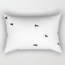 Seagull Sortie Rectangular Pillow