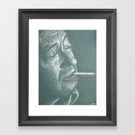 serge&gitane! Framed Art Print