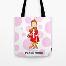 Peace mong Tote Bag