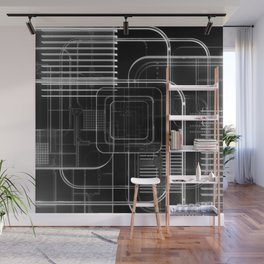 Xray 3D Illustration Wall Mural