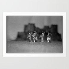 Highlanders Art Print