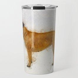 Bullmastiff Travel Mug