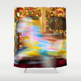 Carousel For Hire Shower Curtain