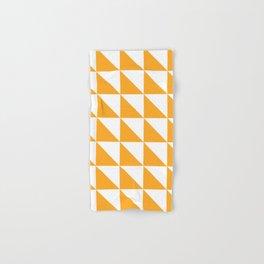 Geometric Pattern 01 Yellow Hand & Bath Towel