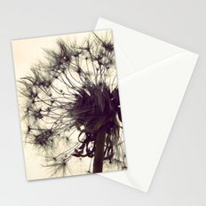 Dandelion Silhouette  Stationery Cards