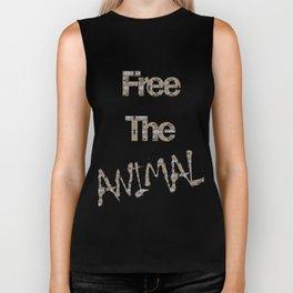 FREE THE ANIMAL - COBRA Biker Tank