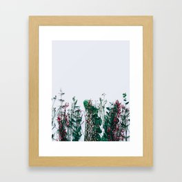 Peeking Nature Framed Art Print