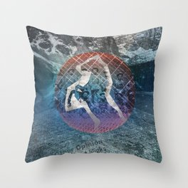 STAND GUARD Throw Pillow