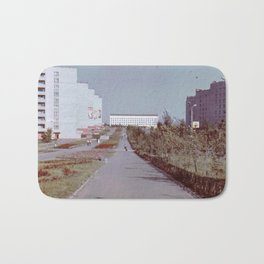 Pobedy Avenue in Amursk (1985) Bath Mat