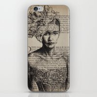 pride and prejudice iPhone & iPod Skins featuring Pride & Prejudice, Chapter XIV by Rebecca Loomis