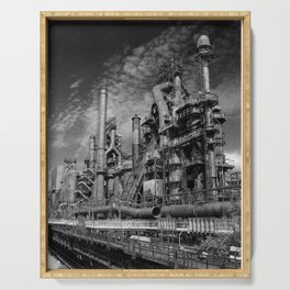 Bethlehem Steel Blast Furnace 9 Serving Tray