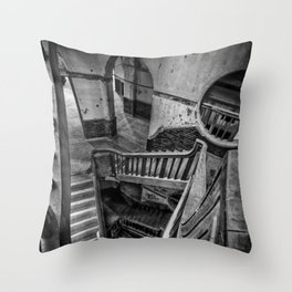 Never Ending Stairs Throw Pillow