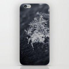 Macro Snowflake iPhone & iPod Skin