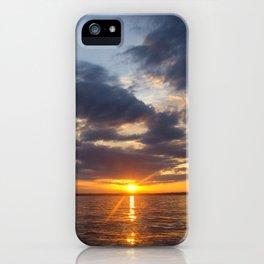 Lake Livingston Sunset iPhone Case