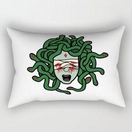 Blind Medusa Rectangular Pillow