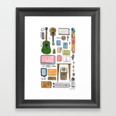 Objects of Adoration Framed Art Print