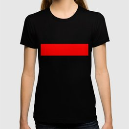 ff0000 Bright Red T-shirt