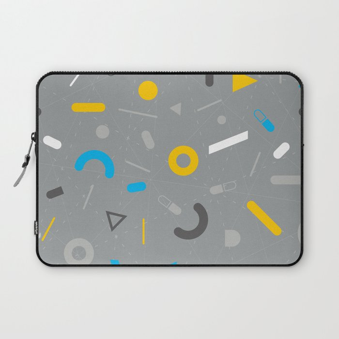 Almost Friday - pattern grey Laptop Sleeve