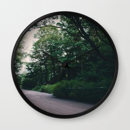 Moody road Wall Clock