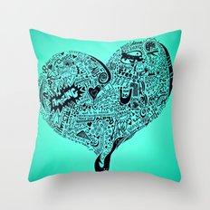 Heartfull Throw Pillow