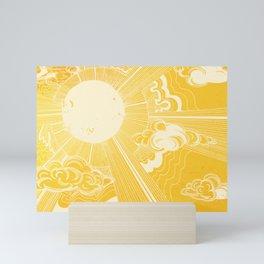 Solar Flare Mini Art Print