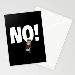 No! no.1 white Stationery Cards