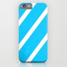 Blue & White Stripes Slim Case iPhone 6s