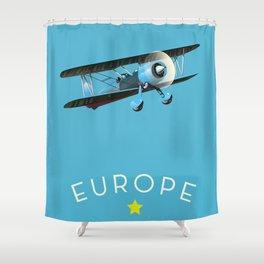 Europe Shower Curtain