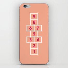 Hopscotch Pink iPhone Skin