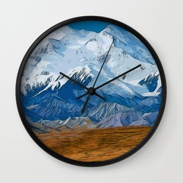 Denali National Park, Mount McKinley Wall Clock