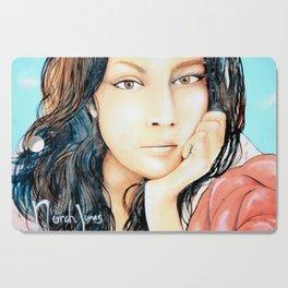 Norah Jones Mural Cutting Board