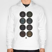 skyrim Hoodies featuring Shield's of Skyrim by VineDesign