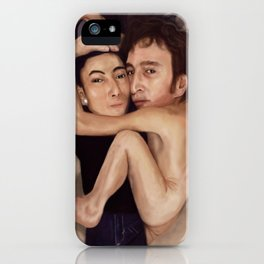 John and Yoko iPhone Case