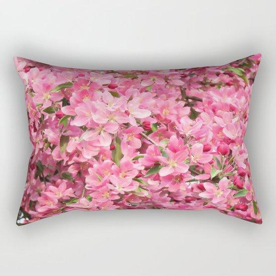 Crab Apple - Pommetier Rectangular Pillow