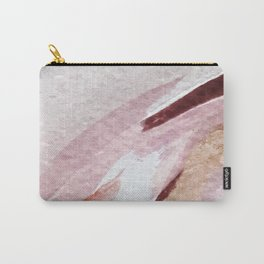 Away [2]: an abstract mixed media piece in pinks and reds Carry-All Pouch